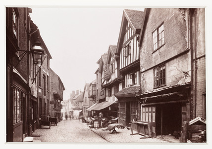'Coventry, Butcher's Row', c 1880.