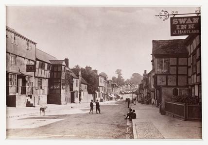 'Ledbury, Homend Street', c 1880.