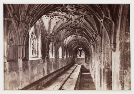 'Gloucester Cathedral, the Lavatorium', c 1880.