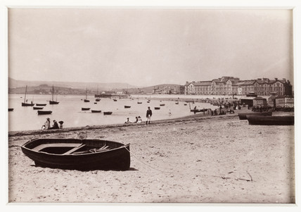 'Exmouth, From The East', c 1880.