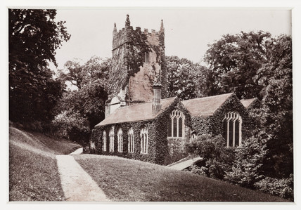 'Torquay, Cockington Church', c 1880.