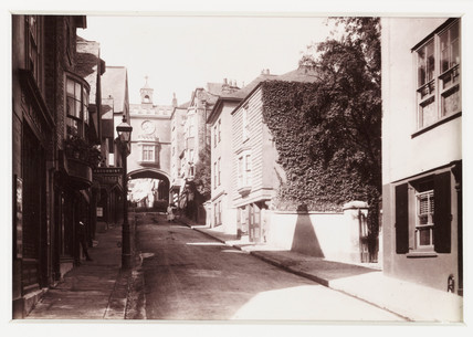 'Totnes, Eastgate', c 1880.