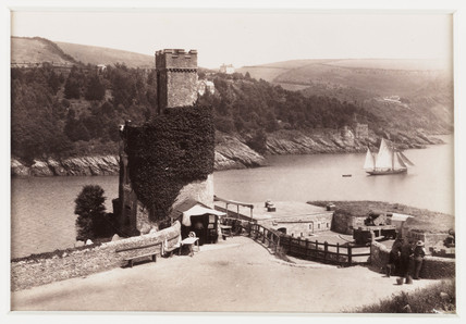 'Dartmouth Castle', c 1880.