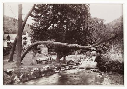 'Ty Mawr Farm, Llyfnant Valley', c 1880.
