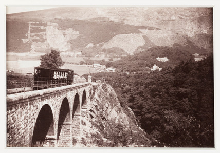 'Viaduct and Quarries', 1894.