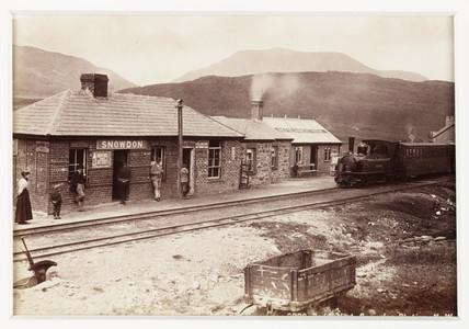 'Beddgelert, Snowdon Station, 1894.