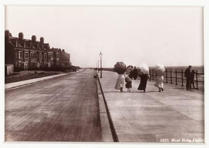 'West Kirby Esplanade', c 1880.