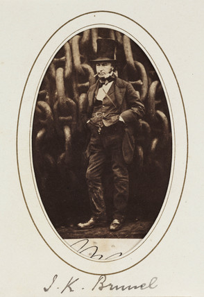 Isambard Kingdom Brunel, 1857.
