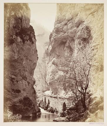 'Entre du Desert Grande Chartreuse', c 1865 .