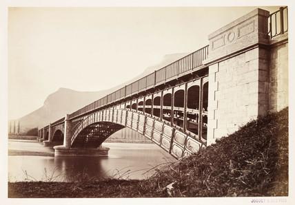 'Pont de Culoz', c 1865.