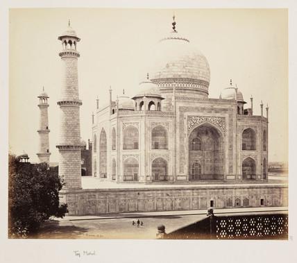 'Taj Mahal', c 1865.
