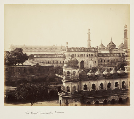 'The Great Imambarah, Lucknow', c 1865