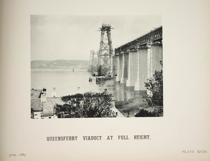 'Queensferry Viaduct At Full Height', 1887.