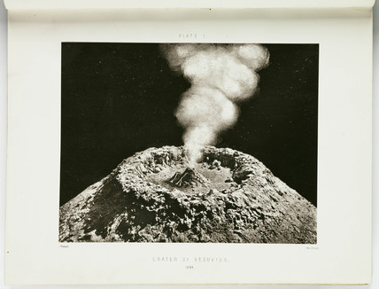 'Crater of Vesuvius, 1864.'