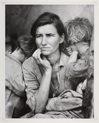 Migrant mother, California, February 1936.