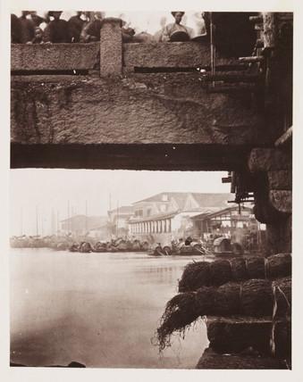 'Part of Lower Bridge', c 1871.