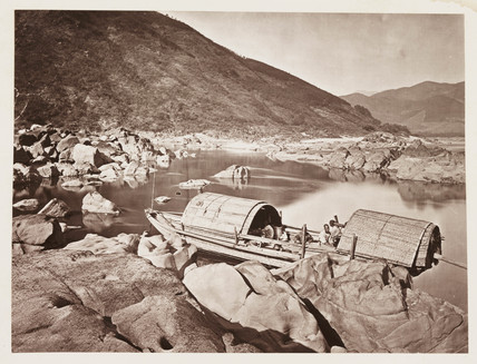 'A Rapid Boat', c 1871.