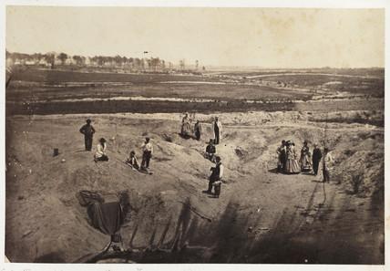 'Crater, Confederate Lines, Petersburg Virginia', USA, 1867.