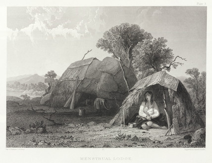 'Menstrual Lodge', North America, 1853.