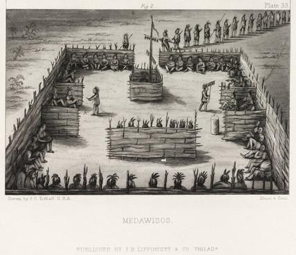 'Medawisos', North America, 1855.