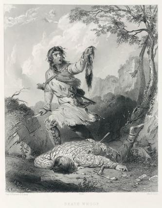 'Death Whoop', 1847.