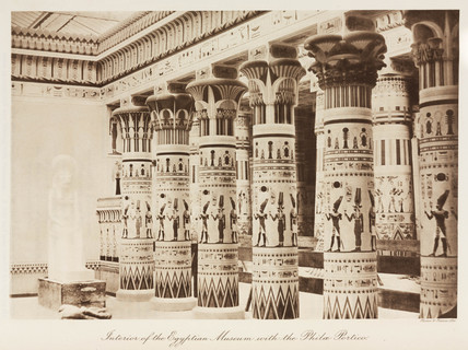 Philae Portico, Egyptian Museum, the Crystal Palace, London, 1911.