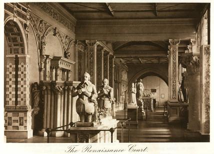 Renaisance Court, the Crystal Palace, Sydenham, London, 1911.