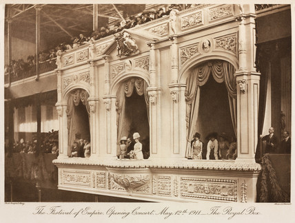 Festival of Empire, opening concert, Crystal Palace, Sydnenham, 1911.