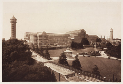 The Crystal Palace, Sydenham, 1911.