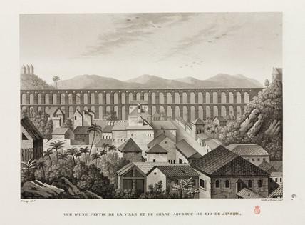Grand Aqueduct, Rio de Janeiro, Brazil, 1817-1820.