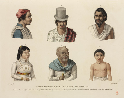 Timorese from Dili, 1817-1820.