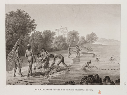 Fishing, Mariana Islands, 1817-1820.