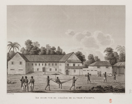 The College in the town of Agagna, Guam, 1817-1820.