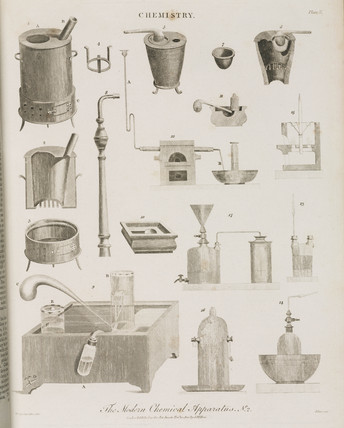 'The Modern Chemical Apparatus No 2', 1800.