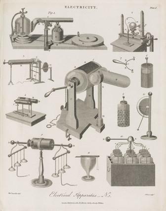 'Electrical Apparatus No 1', 1804.