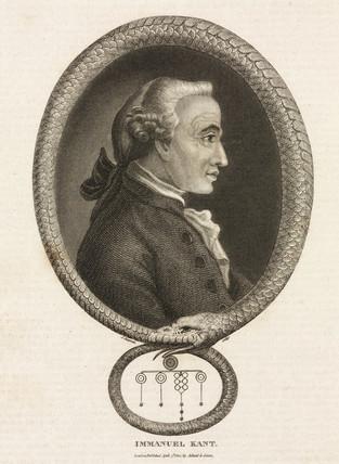 Immanuel Kant, German philosopher, 18th century.