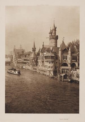 'Old Paris', 1900.