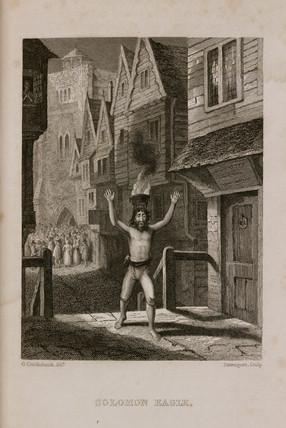 'Solomon Eagle', 1665.