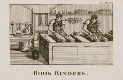 Bookbinders, 1809.