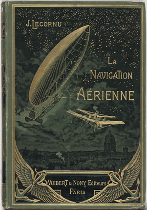 Cover to 'aerial navigation', 1912.
