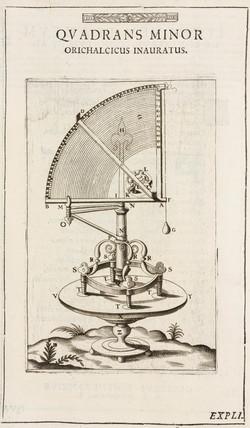 Tycho Brahe's quadrant, 1576.
