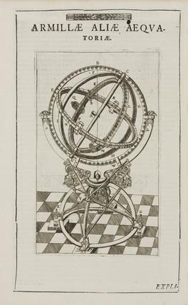 Tycho Brahe's equatorial armillary sphere, c 1580.