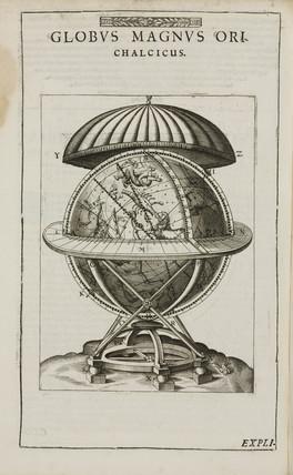 Tycho Brahe's 'great brass globe', late 16th century.