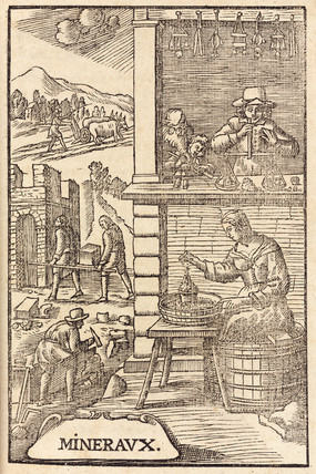 Uses of minerals, 1657.