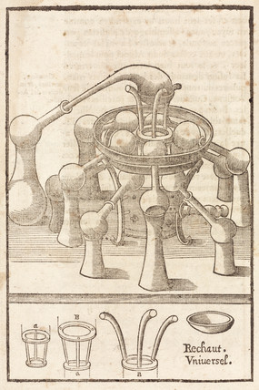 The universal furnace, 1657.