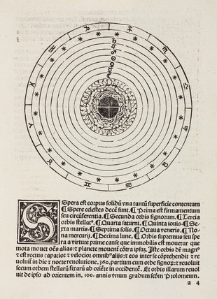 The Medieval cosmos, 1489.