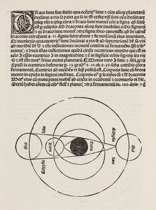 Solar and lunar eclipse, 1489.