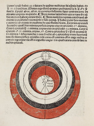 Astronomical diagram, 1489.