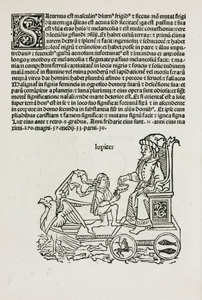 Jupiter symbolised, 1489.