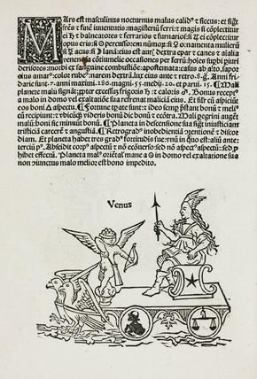 Venus symbolised, 1489.